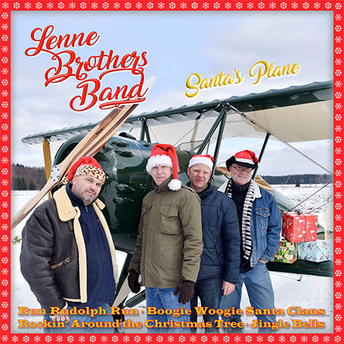 CD Cover: LenneBrothers Band - Santa's Plane