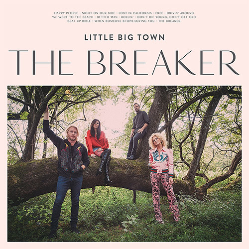 CD Cover: Little Big Town - The Breaker