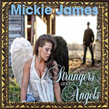 CD-Cover: Mickie James - Strangers and Angels