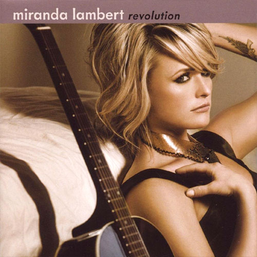 CD Cover: Miranda Lambert - Revolution