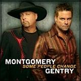 CD Cover Montgomery Gentry - Some People Change
