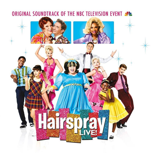 CD Cover: Original Soundtrack - Hairspray Live