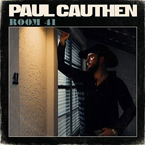 CD Cover: Paul Cauthen - Room 41