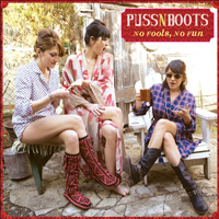 CD Cover: Puss 'n Boots - No Fools, No Fun