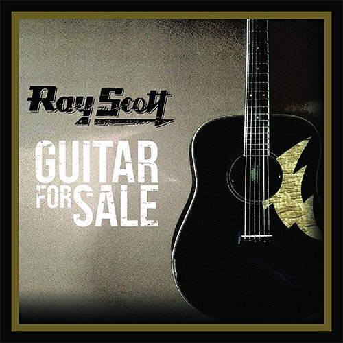 CD Cover: Ray Scott - Guitar for Sale