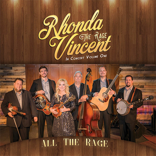 CD Cover: Rhonda Vincent - All The Rage, Volume 1