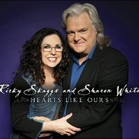 CD Cover: Ricky Skaggs & Sharon White - Hearts Like Ours