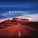CD Cover: Rosehill - White Lines & Stars