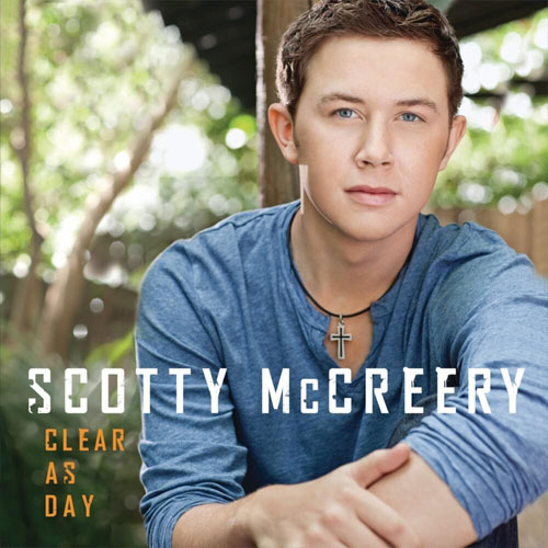 CD Cover: Scotty McCreery - Clear as Day