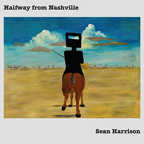CD Cover: Sean Harrison - Halfway From Nashville
