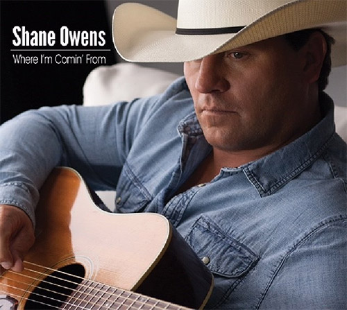 CD Cover: Shane Owens - Where I'm Comin' From