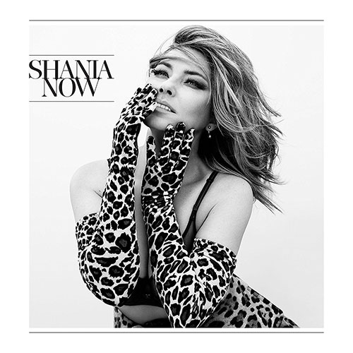 CD Cover: Shania Twain - Now