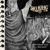 CD Cover: Ski-King - Sketchbook III: New Horizons