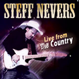 CD Cover: Steff Nevers - Live from the Country