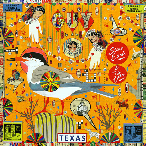 CD Cover: Steve Earle & The Dukes - Guy