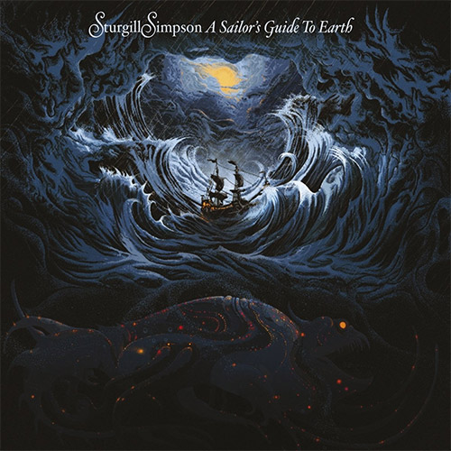 CD Cover: Sturgill Simpson - A Sailor's Guide to Earth
