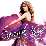 CD Cover: Speak Now von Taylor Swift