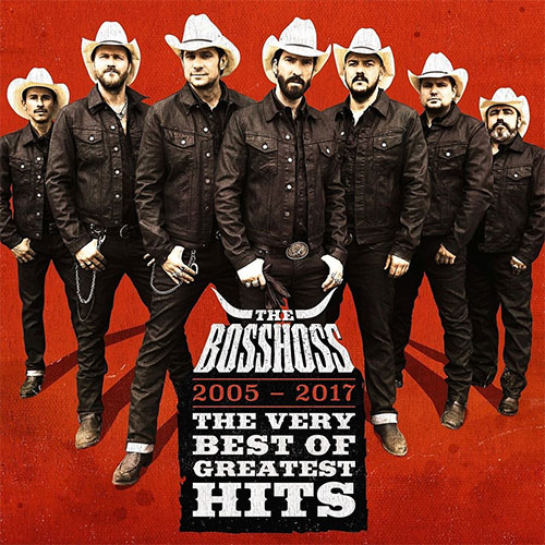 CD Cover: The BossHoss - The Very Best of Greatest Hits