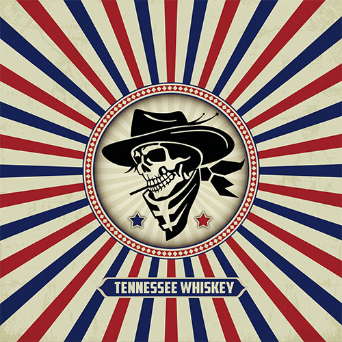 CD Cover: The County Boys - Tennessee Whiskey