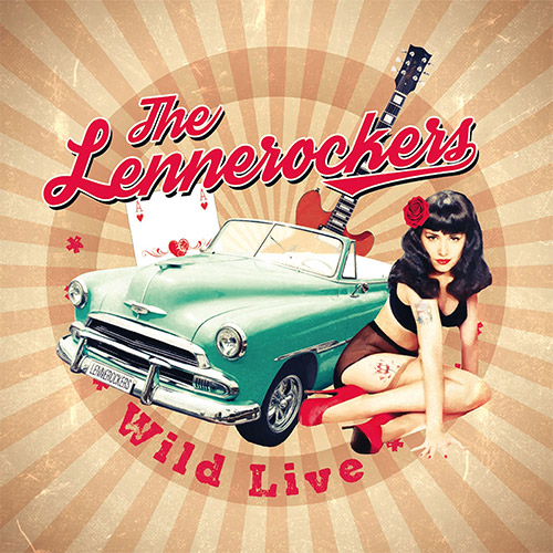 CD Cover: The Lennerockers - Wild Live
