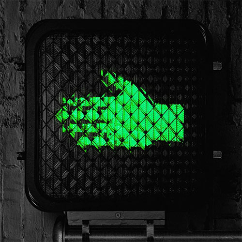 CD Cover: The Raconteurs - Help Us Stranger