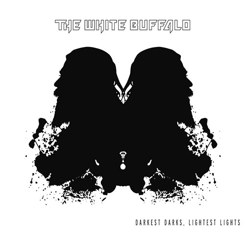 CD Cover: The White Buffalo - Darkest Darks, Lightest Lights