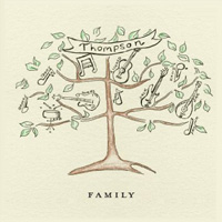 CD Cover: Thompson - Family