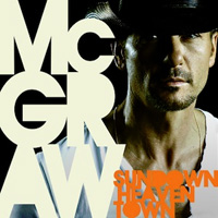 CD-Cover: Tim McGraw - Sundown Heaven Town