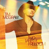 CD Cover: Tim McGraw - Two Lanes of Freedom