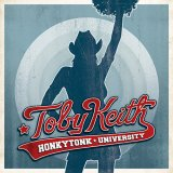 CD Cober Toby Keith - Honkytonk University