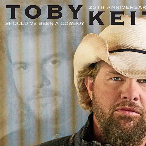 CD Cover: Toby Keith - Should've Been a Cowboy (25th Anniversary Edition)