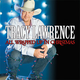CD Cover Tracy Lawrence - All Wrapped Up In Christmas