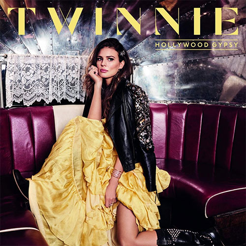 CD Cover: Twinnie - Hollywood Gypsy