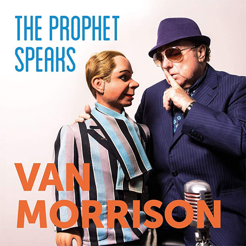 CD Cover: Van Morrison - The Prophet Speaks