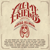CD Cover: Various Artists - All My Friends: Celebrating The Songs and Voice of Gregg Allmann