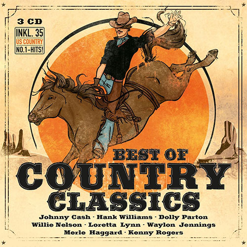 CD Cover: Best of Country Classics