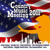 CD Cover: Various Artists - Country Music Meeting 2011
