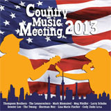 CD Cover: Various Artists - Country Music Meeting 2013
