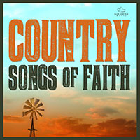 CD Cover: Various Artists - Country Songs of Faith