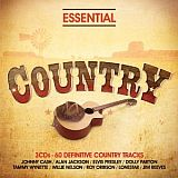 CD Cover: Various Artists - Essential Country