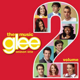CD Cover Glee Season 1 Vol 2