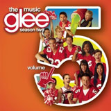 CD Cover Glee Season 2 Vol 5