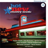 CD Cover: Various Artists - Hot And New Country Music 1