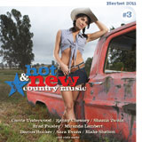 CD Cover: Various Artists - Hot & New Country Music, Volume 3