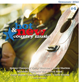 CD Cover: Various Artists - Hot & New Country Music, Volume 4