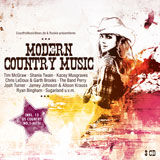 CD Cover: Various Artists - Modern Country Music