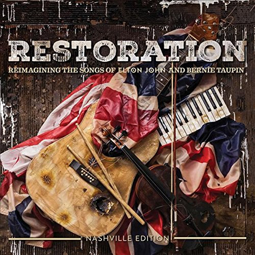 CD Cover: Various Artists - Restoration: Reimagining the Songs of Elton John and Bernie Taupin