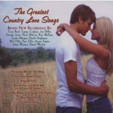CD Cover Various Artists - The Greatest Country Love Songs
