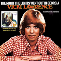 CD Cover: Vicki Lawrence - The Night The Lights Went Out in Georgia