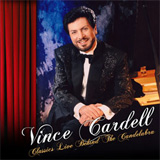 CD Cover: Vince Cardell - Country Live Behind The Candelabra